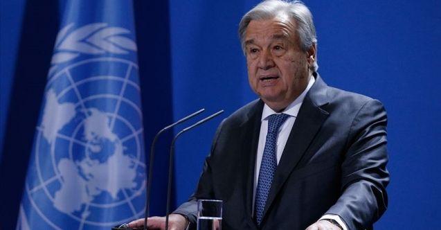 Guterres'ten Türkiye'ye taziye ve dayanışma mesajı