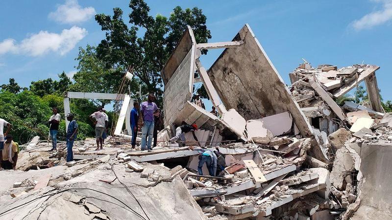 Haiti'de meydana gelen depremde ölü sayısı 304'e yükseldi