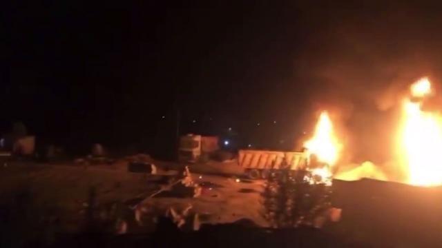 Lübnan'da akaryakıt tankeri patladı: 20 ölü, 79 yaralı