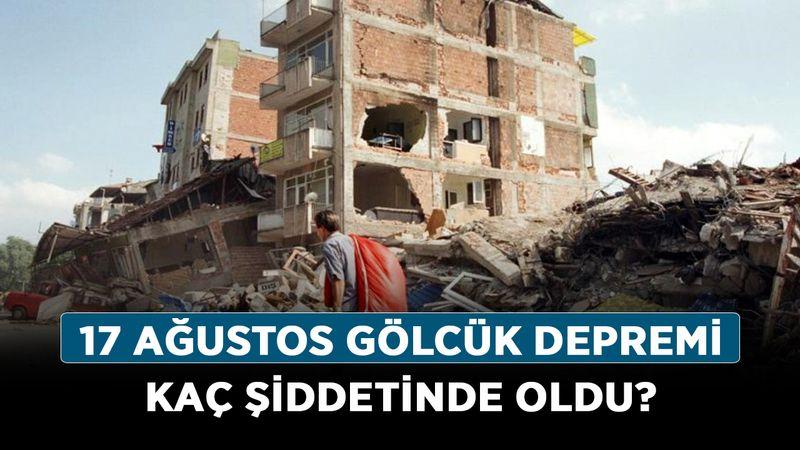 17 Ağustos Gölcük depremi kaç şiddetinde oldu, kaç saniye sürdü? 17 Ağustos depremi kaç kişi öldü?