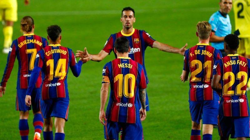 Barcelona batıyor!