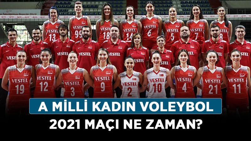 A Milli Kadın Voleybol 2021 maçı ne zaman? Voleybol Avrupa Şampiyonası hangi gün?
