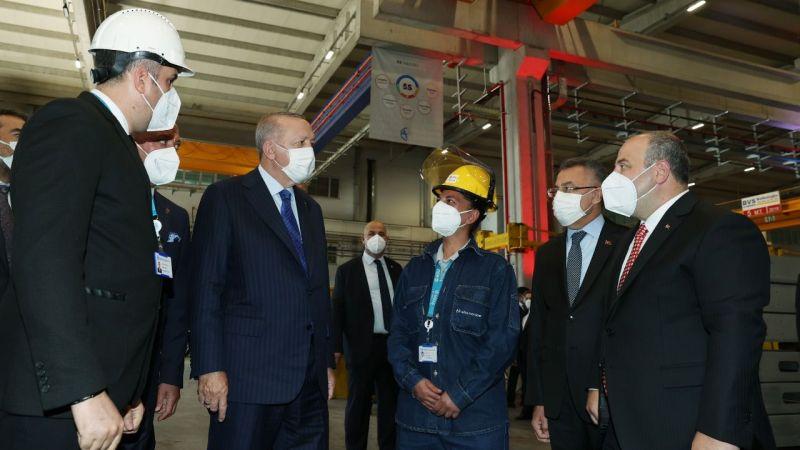 Cumhurbaşkanı Erdoğan açılış töreninde: Başkent'e 26 yeni fabrika