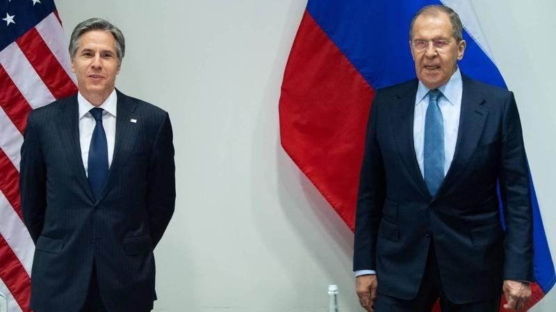"""Rusya Dışişleri Bakanı Lavrov, ABD Dışişleri Bakanı Blinken ile """"Afganistan'daki durumu"""" görüştü"""