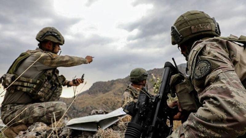 MSB duyurdu! Irak'ın kuzeyinde 3 terörist etkisiz