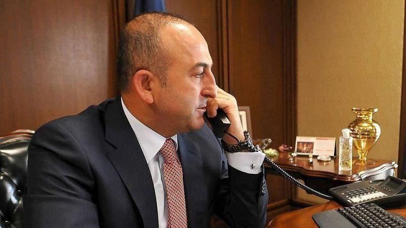 Dışişleri Bakanı Çavuşoğlu, Afganistan'daki son durumu mevkidaşlarıyla telefonda görüştü
