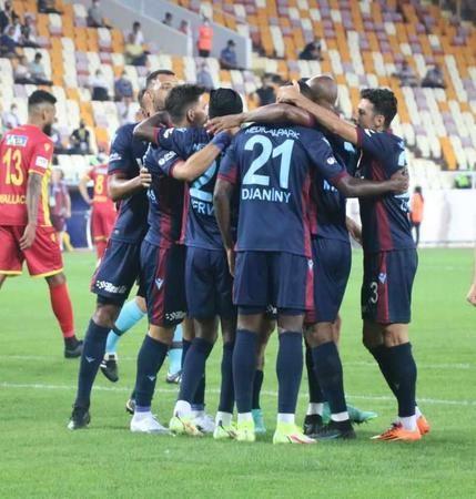 Trabzonspor, Malatya'da farklı kazandı! 5-1