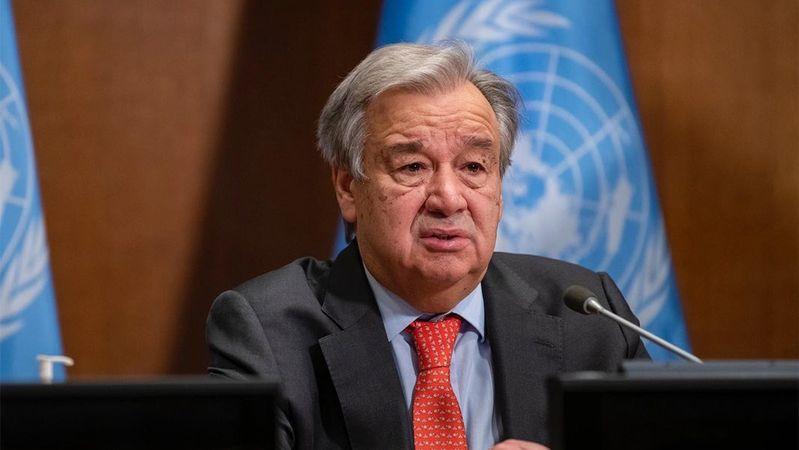 BM Genel Sekreteri Guterres, Katar Dışişleri Bakanı Al Sani ile Afganistan'daki durumu telefonda görüştü