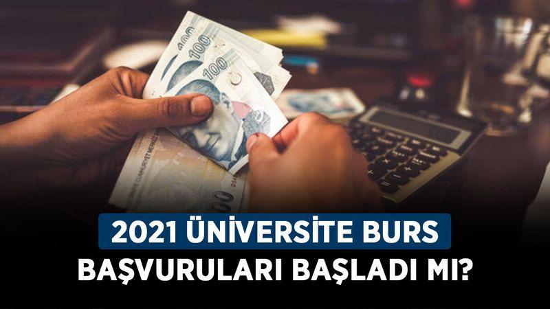 2021 Üniversite burs başvuruları başladı mı? Üniversite burs başvuruları ne zaman, nasıl yapılır?