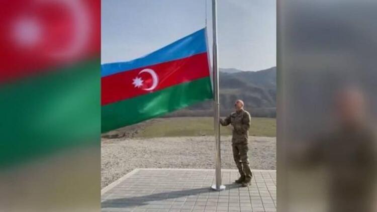 Azerbaycan Cumhurbaşkanı Aliyev, Ermenistan işgalinden kurtarılan Laçın ve Kelbecer'i ziyaret etti