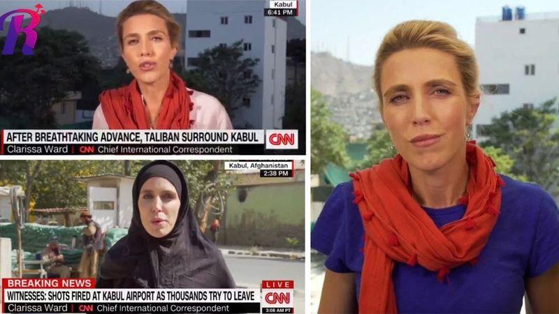 CNN muhabiri Clarissa Ward çarşafa girdiği iddiasına yanıt verdi