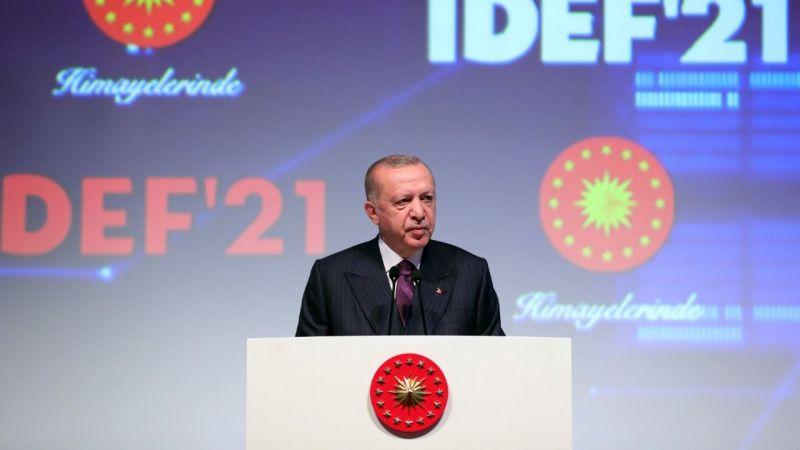 Cumhurbaşkanı Erdoğan: Türkiye savunma sanayiinde devrim gerçekleştirmiştir