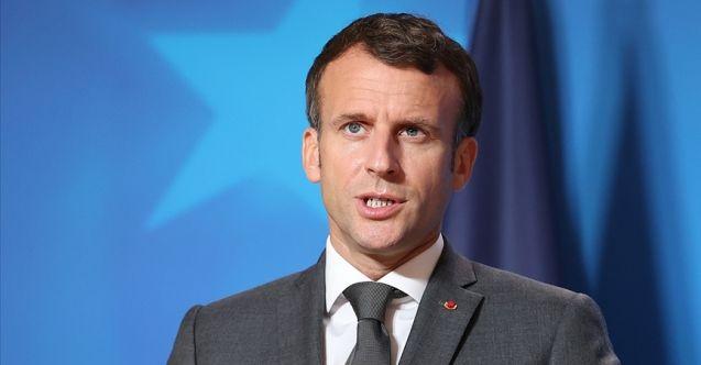 Macron: Afganistan'daki mevcut duruma Avrupa tek başına katlanamaz