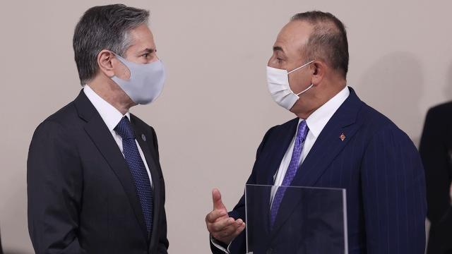 Çavuşoğlu ABD'li mevkidaşı ile Afganistan'ı görüştü
