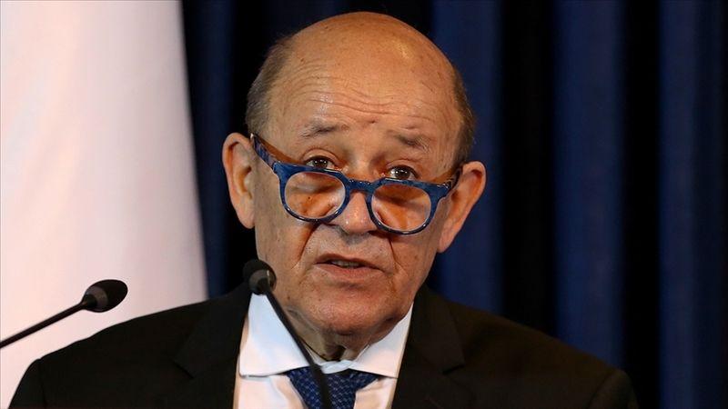 """Fransa Dışişleri Bakanı Drian: """"Taliban'ın değiştiğini gösteren, kapsayıcı ve temsili hükümet gerekiyor"""""""