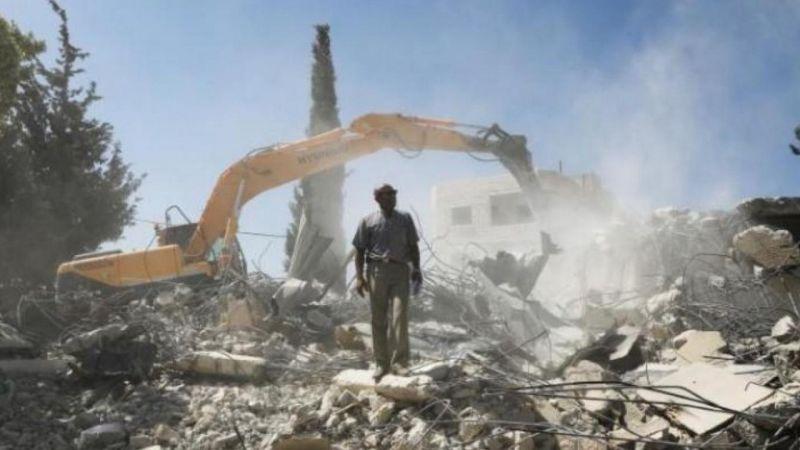 İşgalci İsrail güçleri bu kez de Kudüs'te bir anaokulunu yıktı