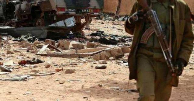 Mali'de terör saldırısı: 11 asker öldü