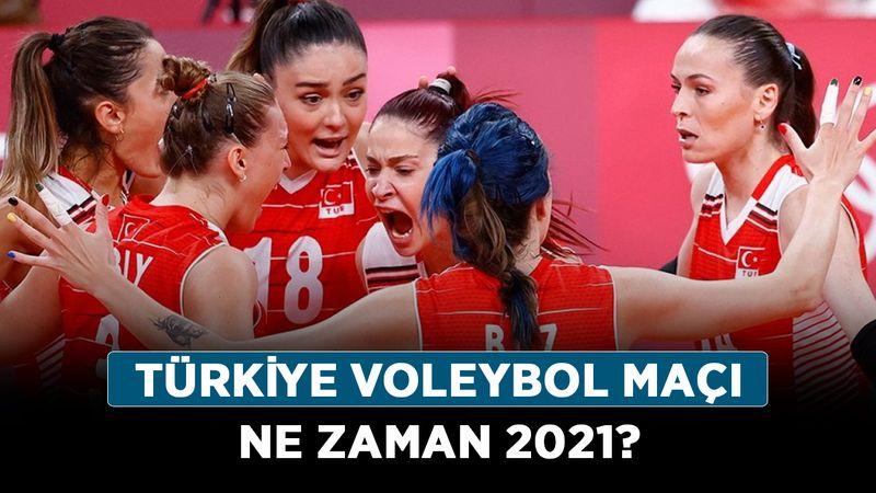 Türkiye voleybol maçı ne zaman 2021? Türkiye Ukrayna voleybol maçı saat kaçta?