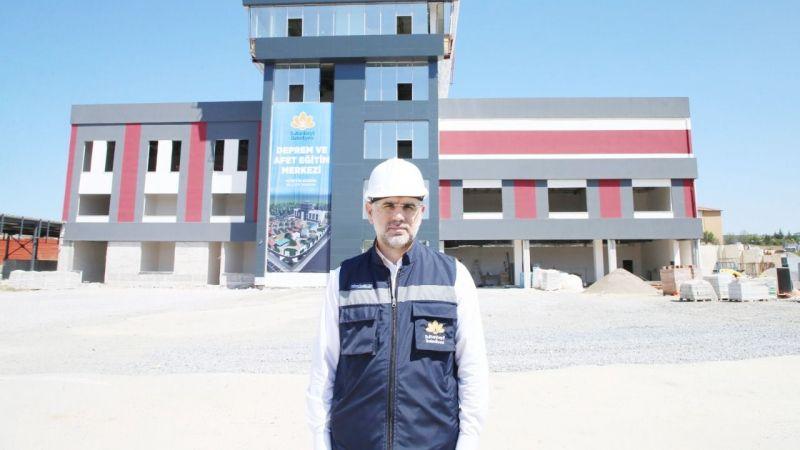 Deprem ve Afet Eğitim Merkezi hızla tamamlanıyor