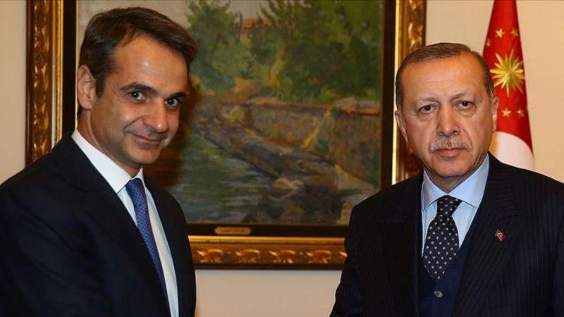 Cumhurbaşkanı Erdoğan ve Yunanistan Başbakanı Miçotakis telefonda görüştü