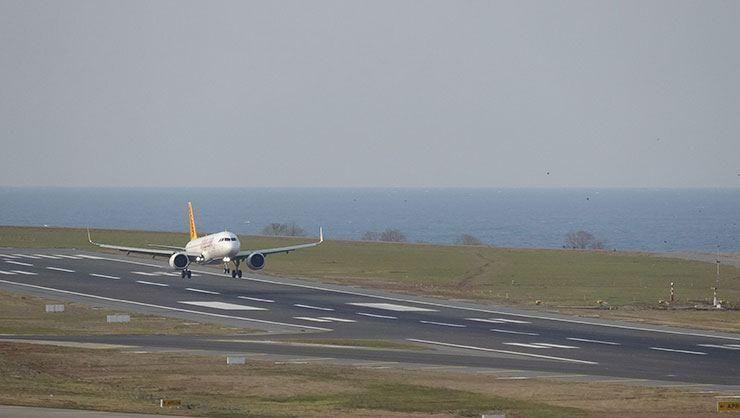 Trabzon Havalimanı'nda uçuşlar iptal edildi