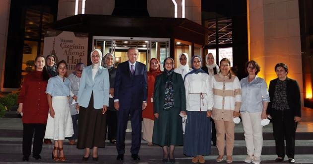 Cumhurbaşkanı Erdoğan'dan KADEM'e ziyaret