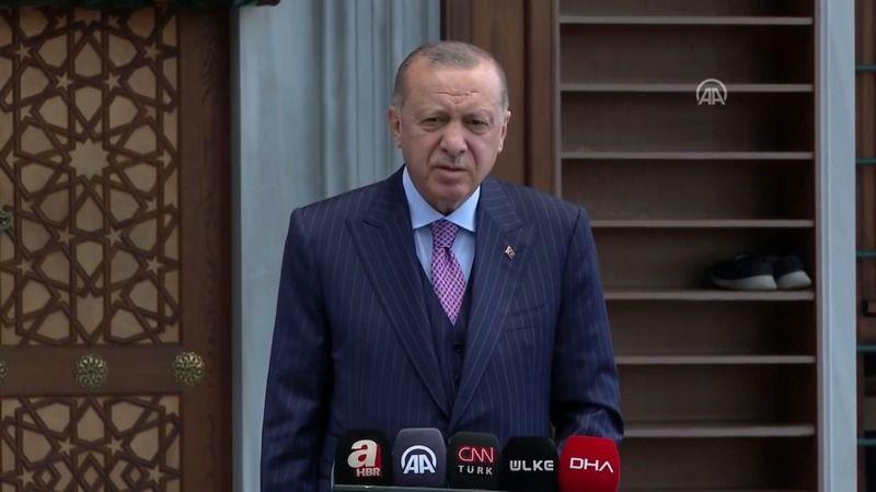 Cumhurbaşkanı Erdoğan: Afganistan'dan Türkiye'ye 1, milyon göç olmamıştır!