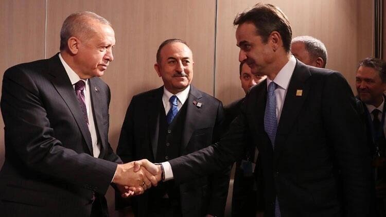 Cumhurbaşkanı Erdoğan, Yunanistan Başbakanı Miçotakis'le görüşecek