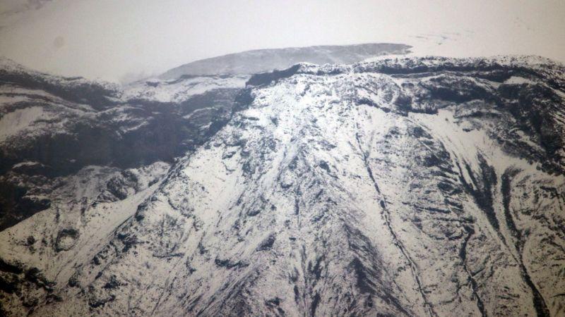 Kar yağışı nedeniyle Ağrı Dağı beyaza büründü