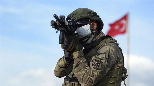 Irak ve Suriye'nin kuzeyinde 4 terörist etkisiz hale getirildi