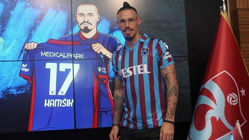 Hamsik Trabzon'da mutlu