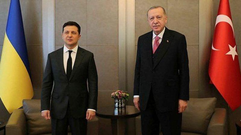 Cumhurbaşkanı Erdoğan, Ukrayna Devlet Başkanı Zelenski ile bir telefonda görüştü