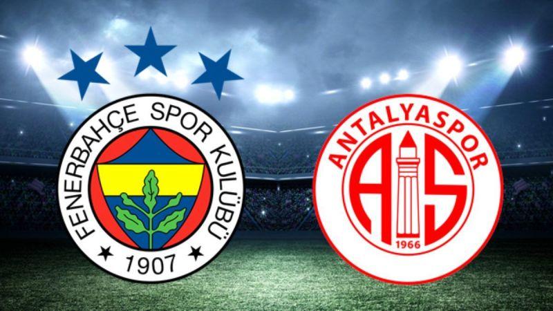 Fenerbahçe - Antalyaspor maçının muhtemel 11'leri