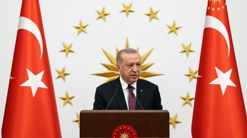 Cumhurbaşkanı Erdoğan, milli sporcular ile akşam yemeğinde bir araya geldi