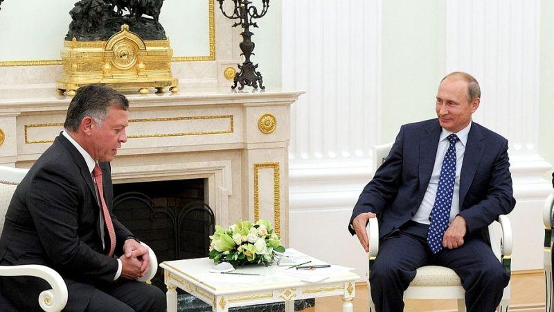 Rusya Devlet Başkanı Putin ile Ürdün Kralı görüştü