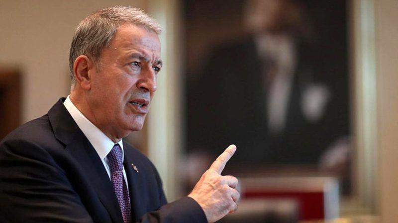 """Bakan Akar'dan """"iltica başvuru merkezi kurulacağı"""" iddialarına yalanlama"""