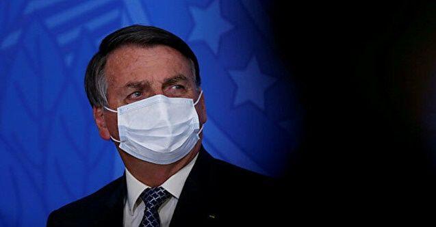 Brezilya Cumhurbaşkanı Bolsonaro maske için tarih istedi