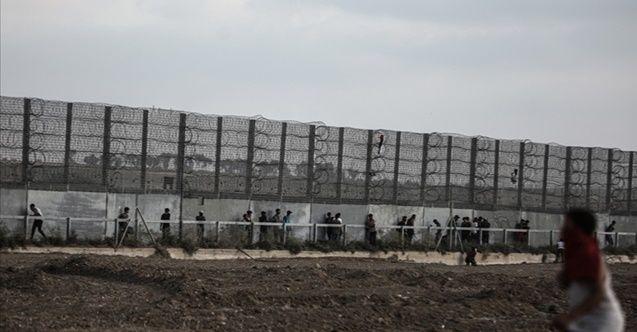 İsrail'den Gazze sınırına yeni bariyer