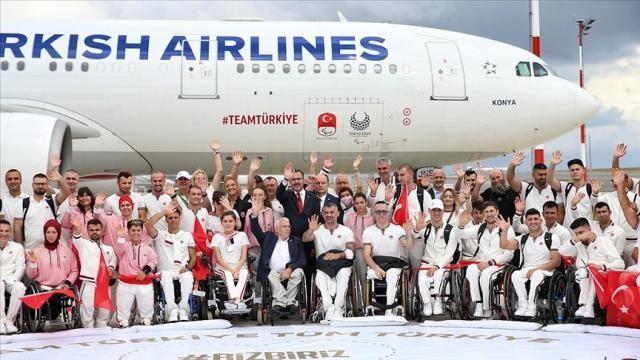 2020 TokyoParalimpikOyunları'nda Türkiye'yi 87 sporcu temsil edecek
