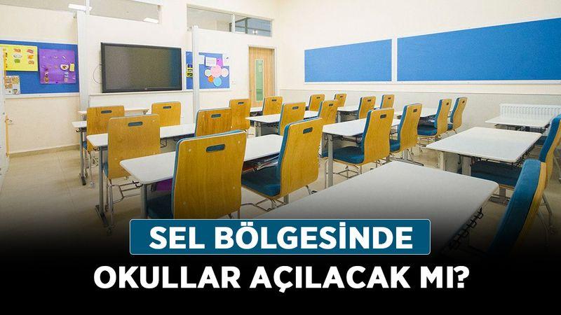 Sel bölgesinde okullar açılacak mı? Kastamonu, Sinop ve Bartın'da son durum ne?