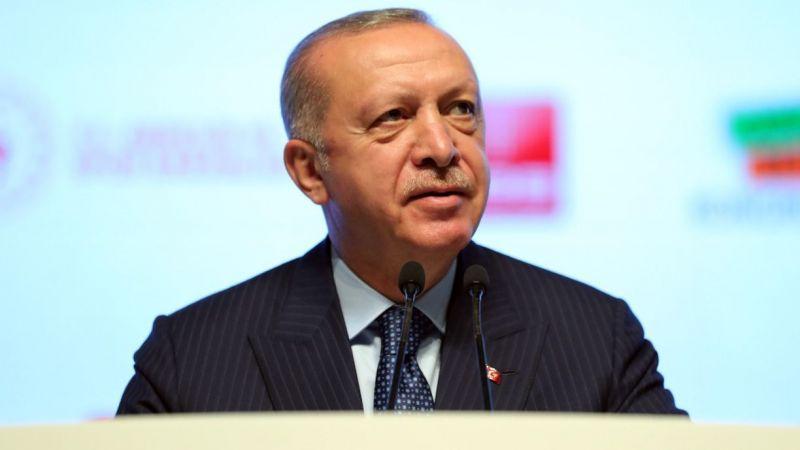 Cumhurbaşkanı Erdoğan: Milletin ciğerini yakan bir musibetten siyasi rant devşirmeye çalışmanın hiçbir izahı olamaz