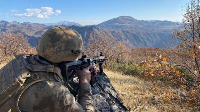 Gabar'da 3 PKK'lı terörist etkisiz hale getirildi