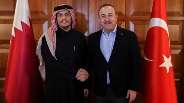 Dışişleri Bakanı Çavuşoğlu, Katarlı mevkidaşı  ile telefonda görüştü
