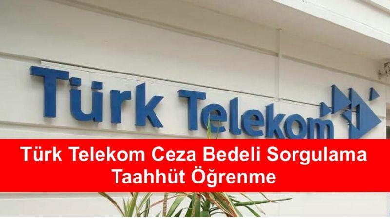 Türk Telekom Taahhüt Sorgulama Nasıl Yapılır?