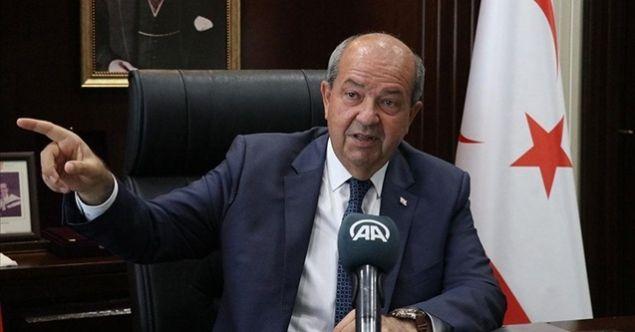 KKTC Cumhurbaşkanı Tatar'dan Rumlara pasaport tepkisi