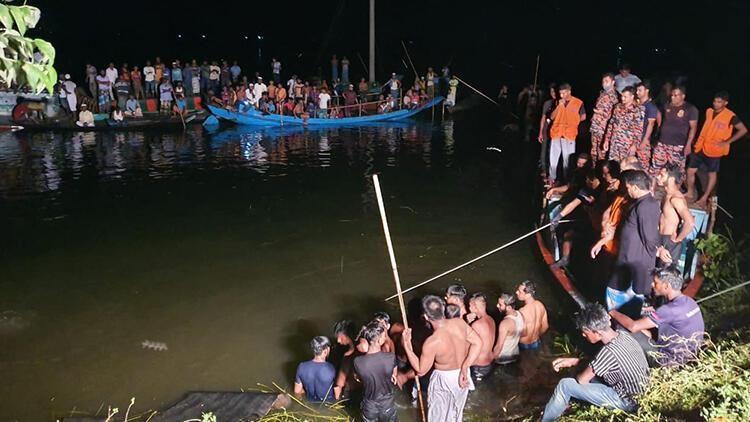 Bangladeş açıklarında facia: 21 ölü