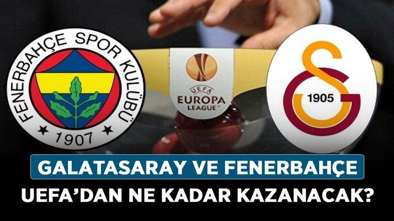 Galatasaray ve Fenerbahçe UEFA'dan ne kadar kazanacak? UEFA gelirleri belli oldu!
