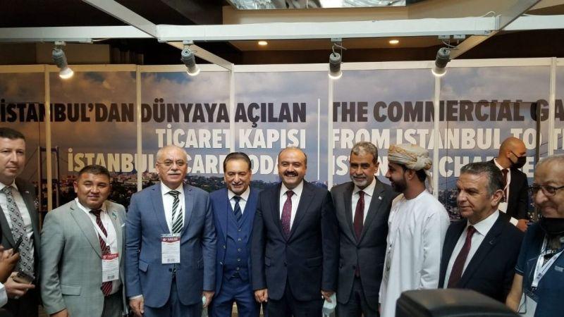 Türk ve Arap iş dünyası Gıda ve Tarım Fuarı'nda buluştu