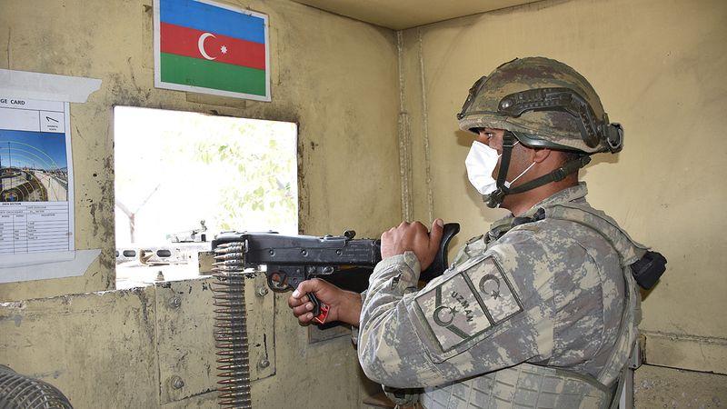 Kabil'de görev yapan Azerbaycan askerleri Bakü'ye döndü