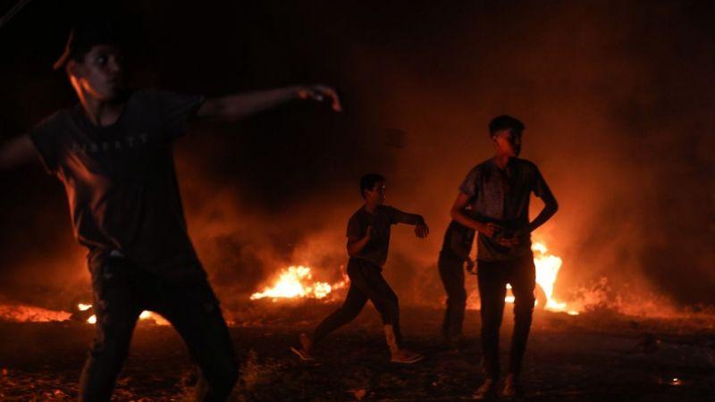 İşgalci İsrail güçleri, Gazze sınırındaki gösteriye gerçek mermiyle müdahale etti